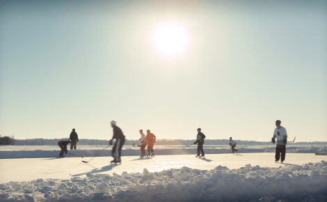 Door County Pond Hockey:  Creating A Hockey Culture
