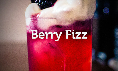 Making A Berry Fizz | Wicked Cocktails